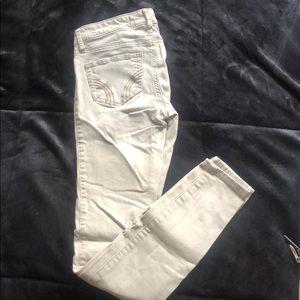 Hollister Skinny Khaki Jean Pants Size 00R